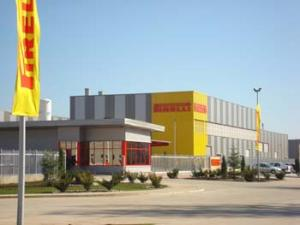 Slatina. The Pirelli tyre factory in Slatina is extended by a new manufacturing facility.